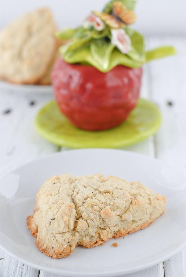 Gluten-Free Onion And Black Pepper Scones Recipe — Dishmaps