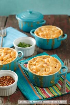 Creamy Mini Mexican Macaroni and Cheese