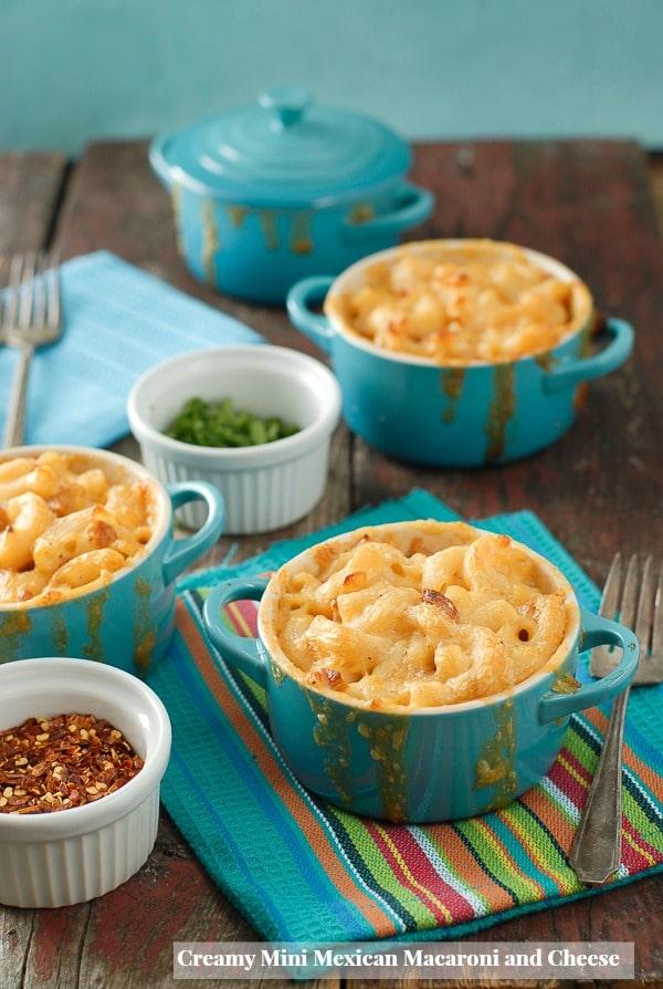 Creamy Mini Mexican Macaroni-and-Cheese