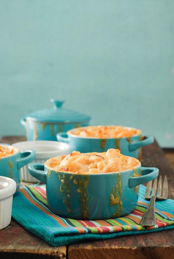 Creamy Mini Mexican Macaroni and Cheese- BoulderLocavore.com