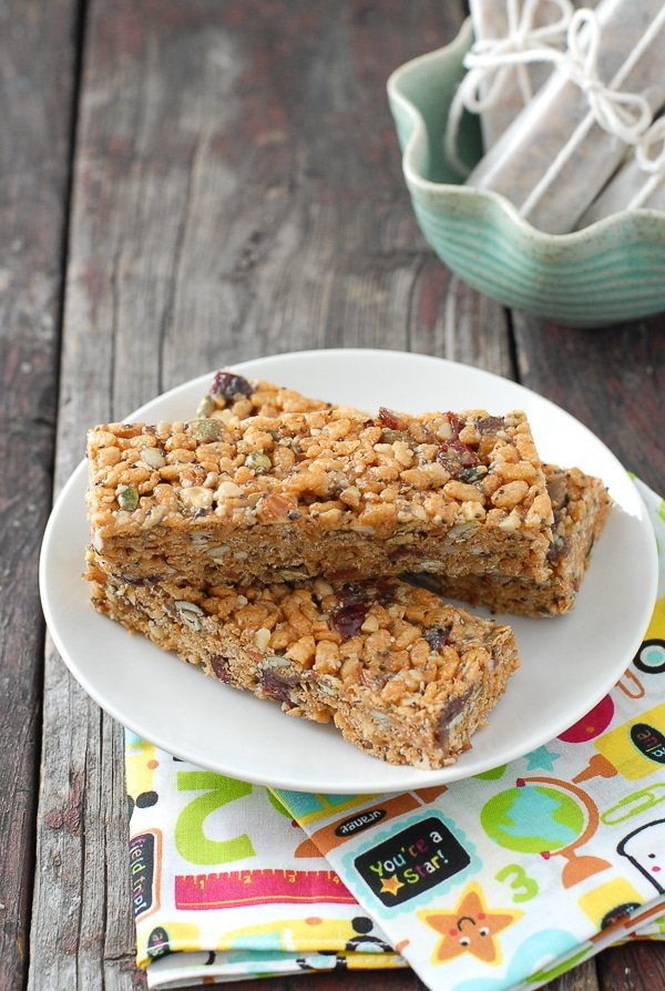 Supersonic Peanut Butter Energy Bars  - BoulderLocavore.com  #glutenfree