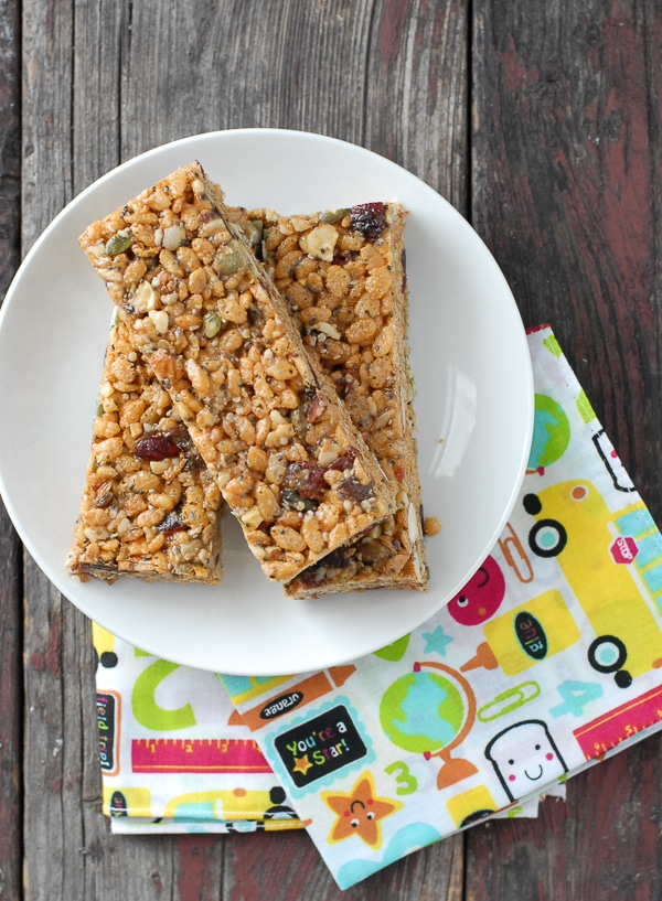 Supersonic Peanut Butter Energy Bars  - BoulderLocavore.com