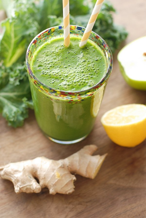 The Green Zinger Smoothie - BoulderLocavore.com