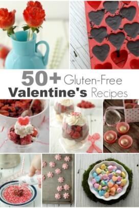 50 plus Gluten-Free Valentine's Recipes title image