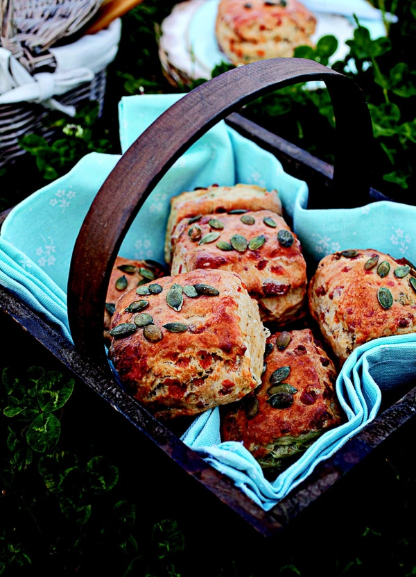 Bacon and Thyme Scones {Irish Country Cooking} - BoulderLocavore.com