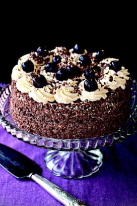 Black Forest Gateau {Irish Country Cooking}