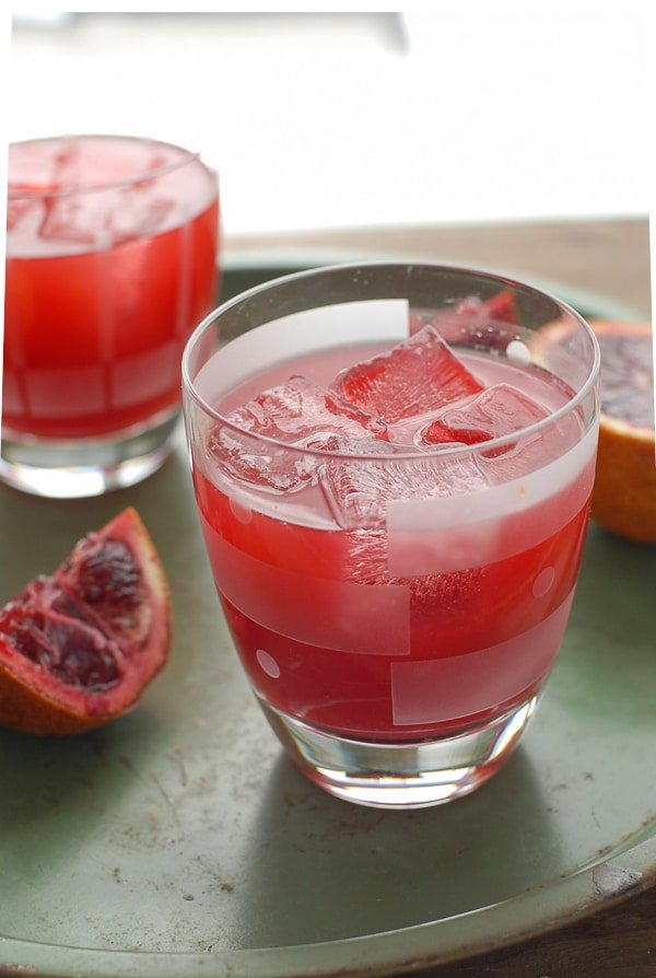 Blood Orange Ginger Margaritas  - BoulderLocavore.com