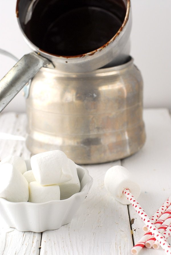 Chocolate Marshmallow Valentine's Pops- Dipping Marshmallows - BoulderLocavore.com