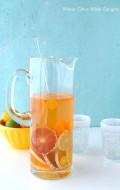 Winter Citrus White Sangria - BoulderLocavore.com
