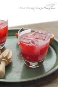 Blood Orange Ginger Margarita