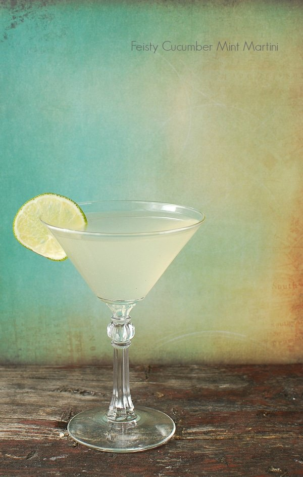 Feisty Cucumber Mint Martini - BoulderLocavore.com