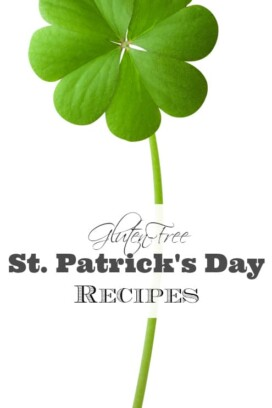 Gluten-Free St. Patrick's Day Recipes Title image