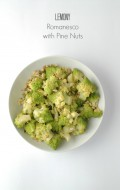 Lemony Romanesco with Pine Nuts - BoulderLocavore.com