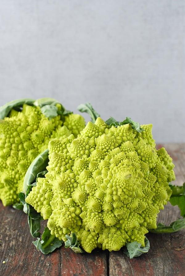 Romanesco broccoli cauliflower