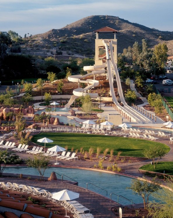 Oasis Water Park at Arizona Grand Resort - BoulderLocavore.com