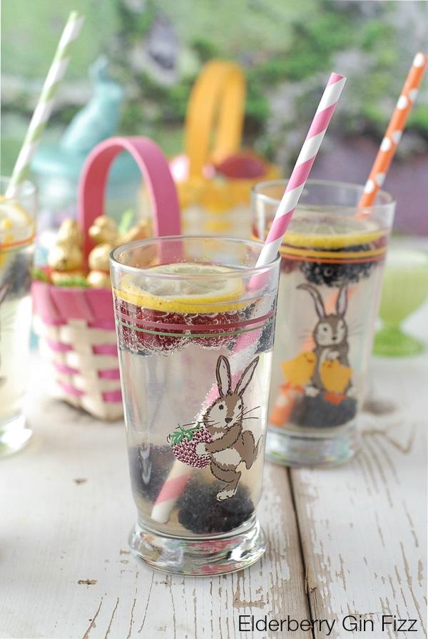 Elderflower Gin Fizz #Easter - BoulderLocavore.com