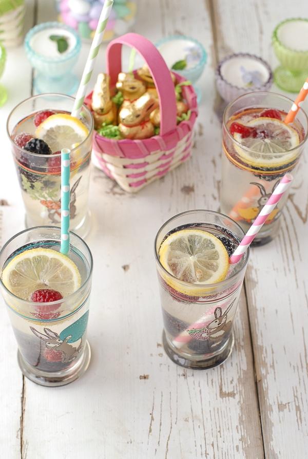 Elderberry Gin Fizz Easter - BoulderLocavore.com