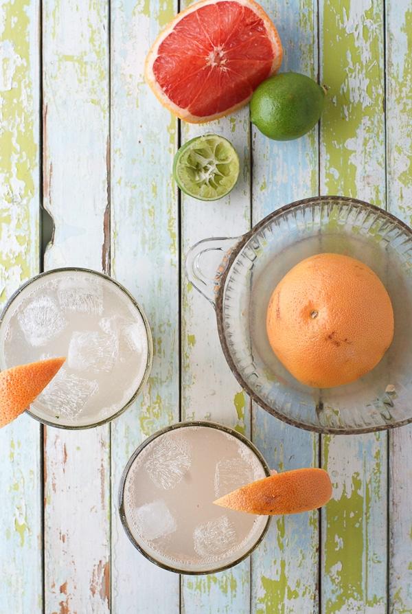 Fresh Paloma Cocktail #grapefruit - BoulderLocavore.com