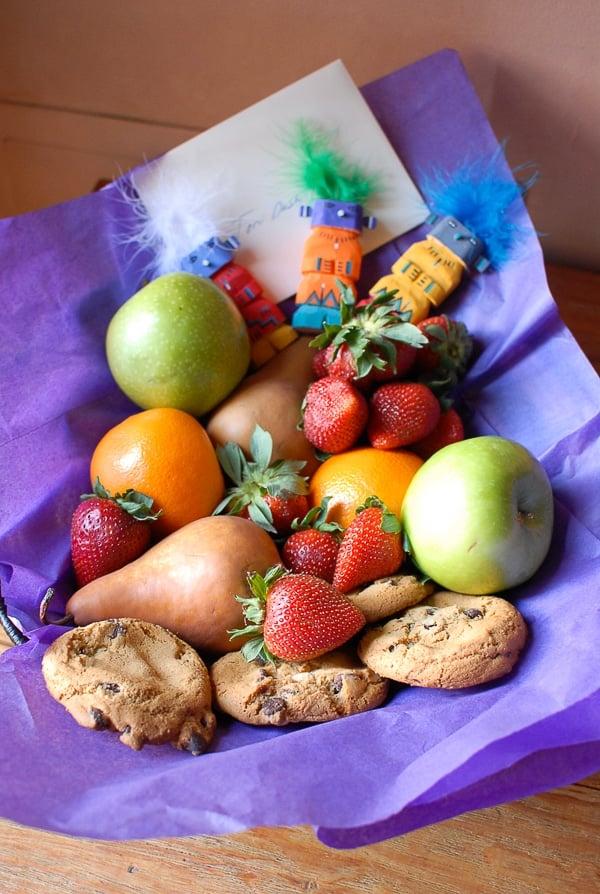 Fruit Basket Hotel Santa Fe - BoulderLocavore.com