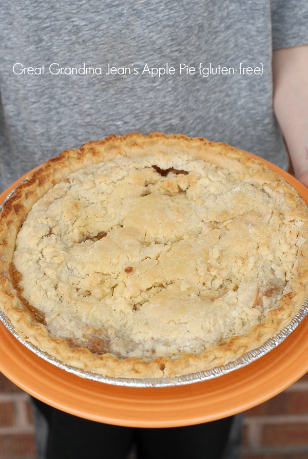 Great Grandma's Best Apple Pie #glutenfree recipe - BoulderLocavore.com