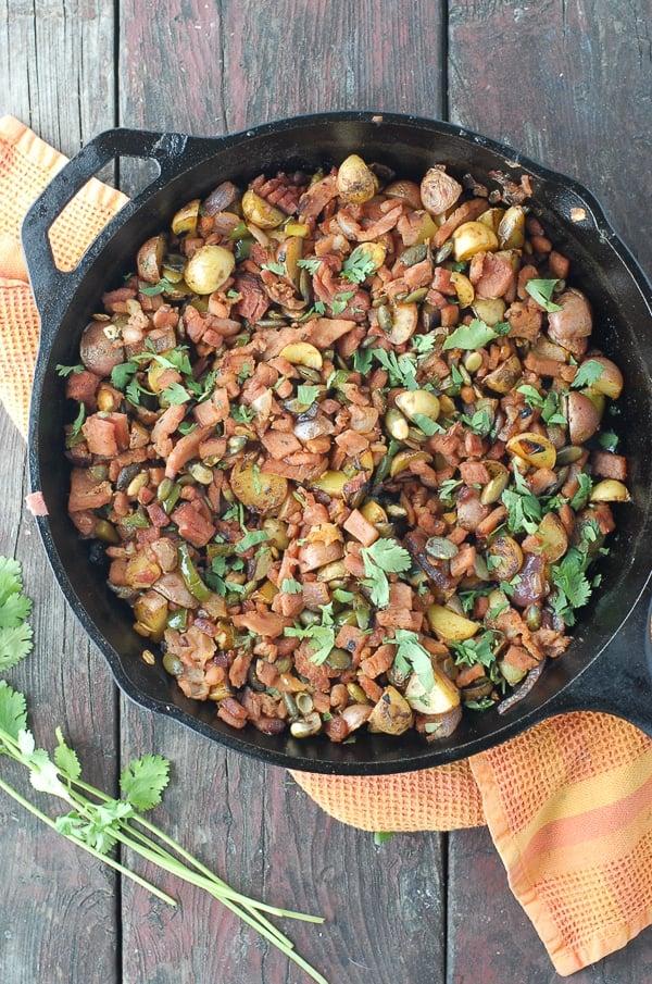 Jalapeno Ham Hash  - BoulderLocavore.com