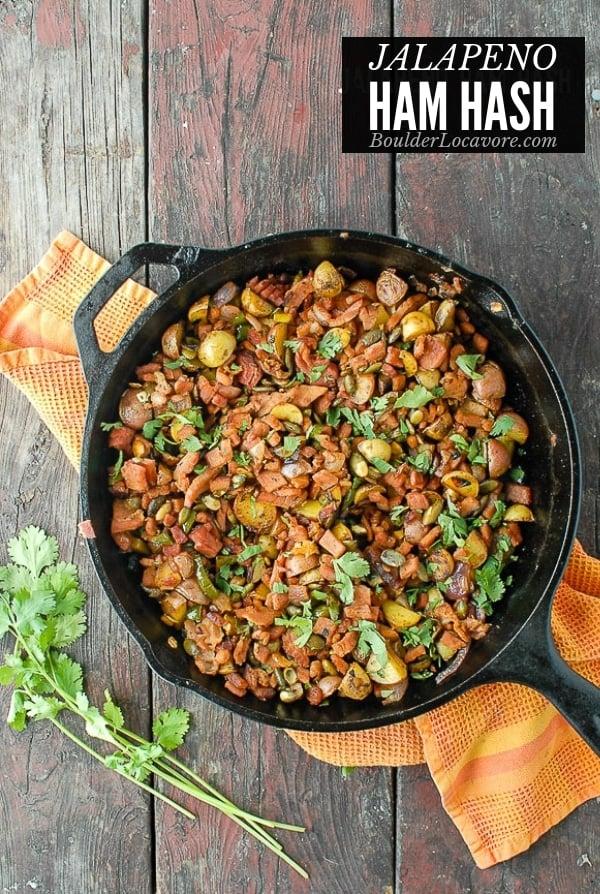 Jalapeno Ham Hash title image
