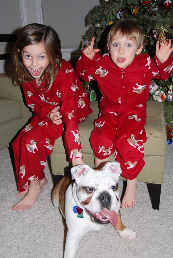 Kids with Lola Xmas