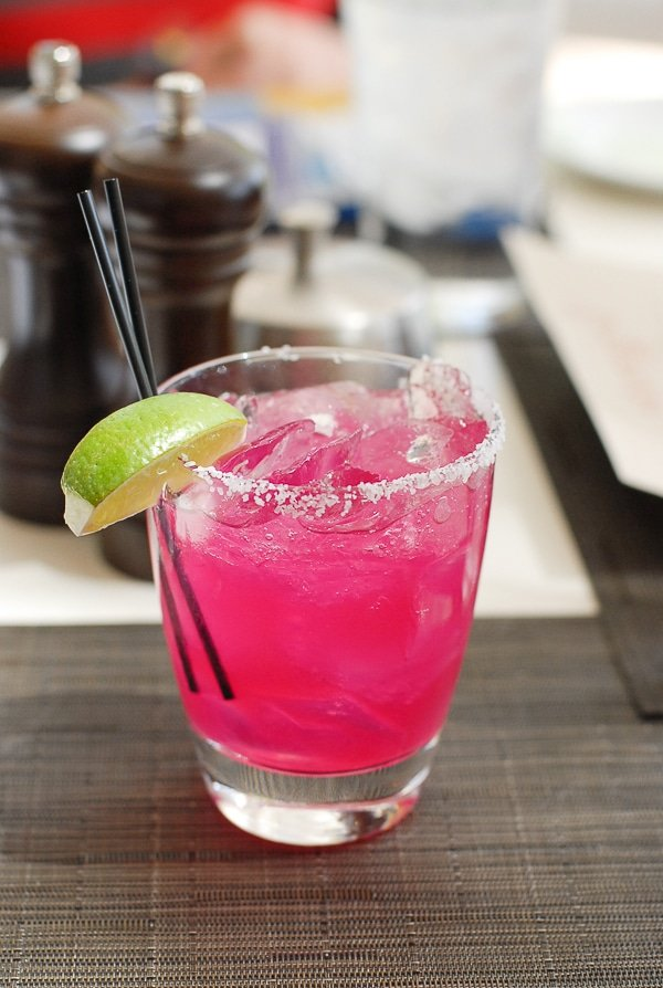 Prickly Pear Margarita JW Marriott - BoulderLocavore.com