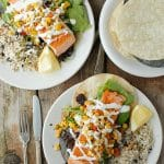 Visiting The Grand Canyon & El Tovar Salmon Tostadas {recipe}