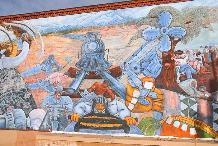 Santa Fe Railyard mural- BoulderLocavore.com