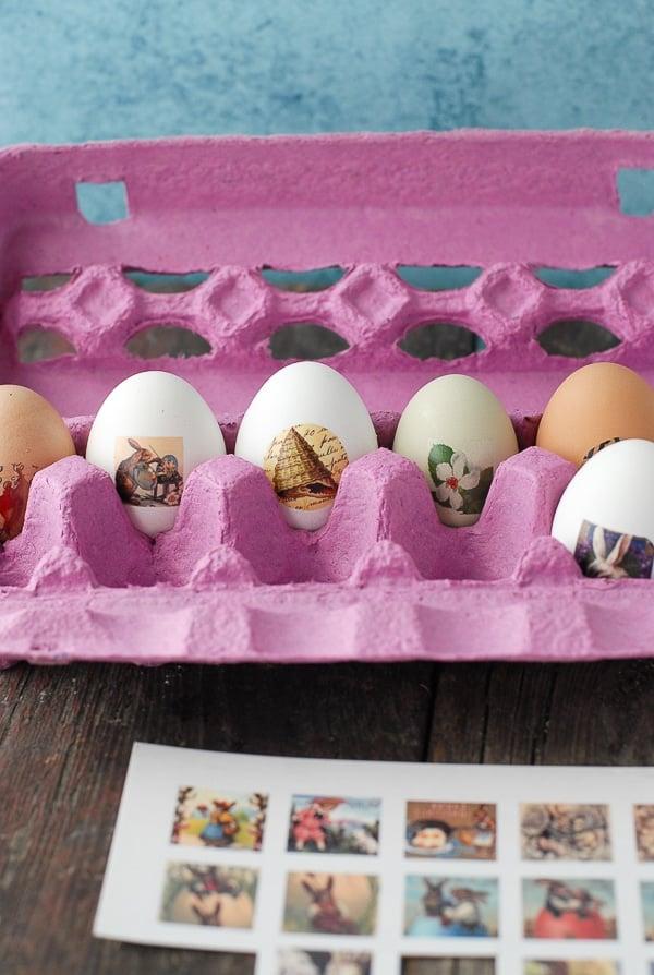 Tatooed Easter Eggs