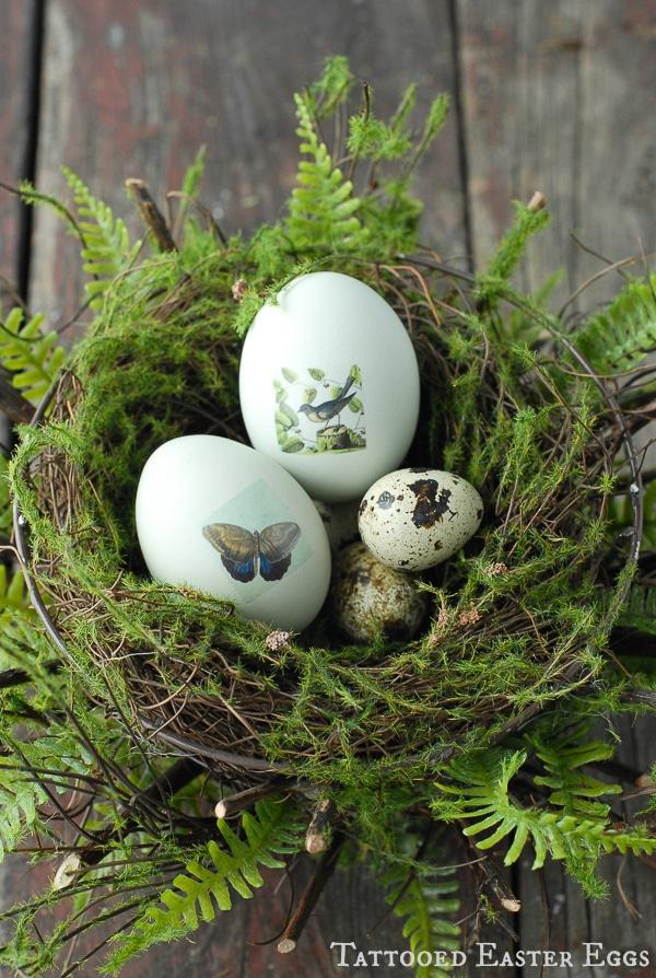 Tattooed Easter Eggs