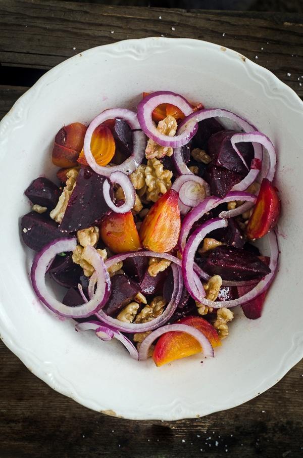 The Nourished Kitchen Roasted Beet Salad - BoulderLocavore.com