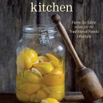 Melted Blueberries with Ginger and Mandarin Orange & The Nourished Kitchen {giveaway}