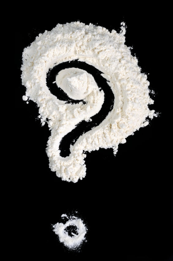 Flour With question mark
