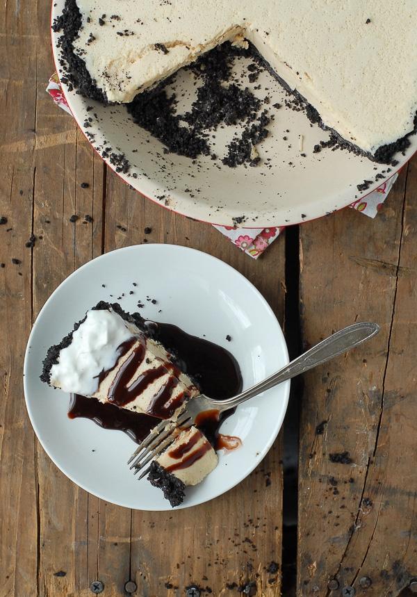 Chocolate Fluffernutter (Peanut Butter Marshmallow) Pie - BoulderLocavore.com