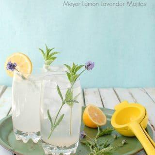 Meyer Lemon Lavender Mojito