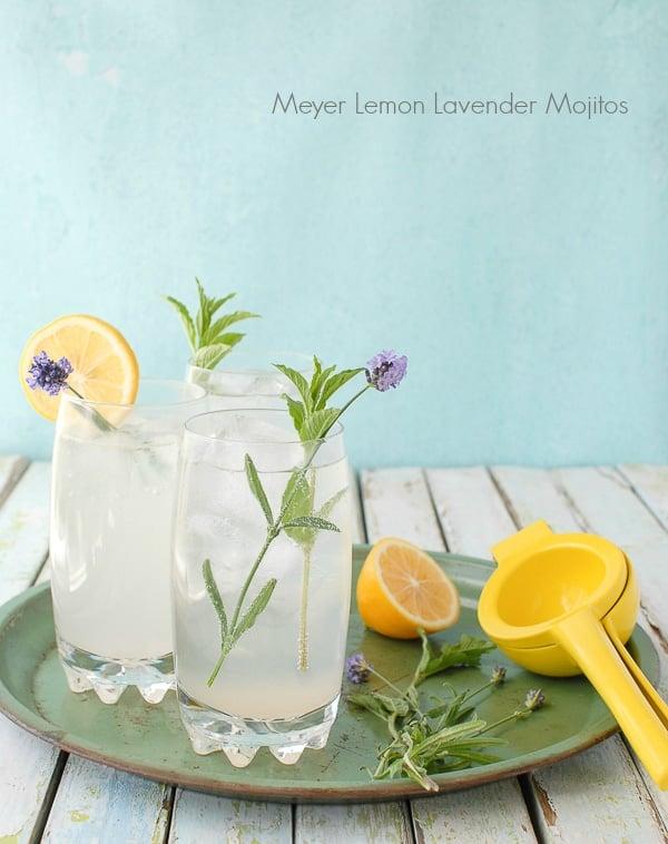 Meyer Lemon Lavender Mojito - BoulderLocavore.com
