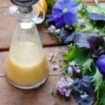 Homemade Meyer Lemon Salad Dressing Recipe