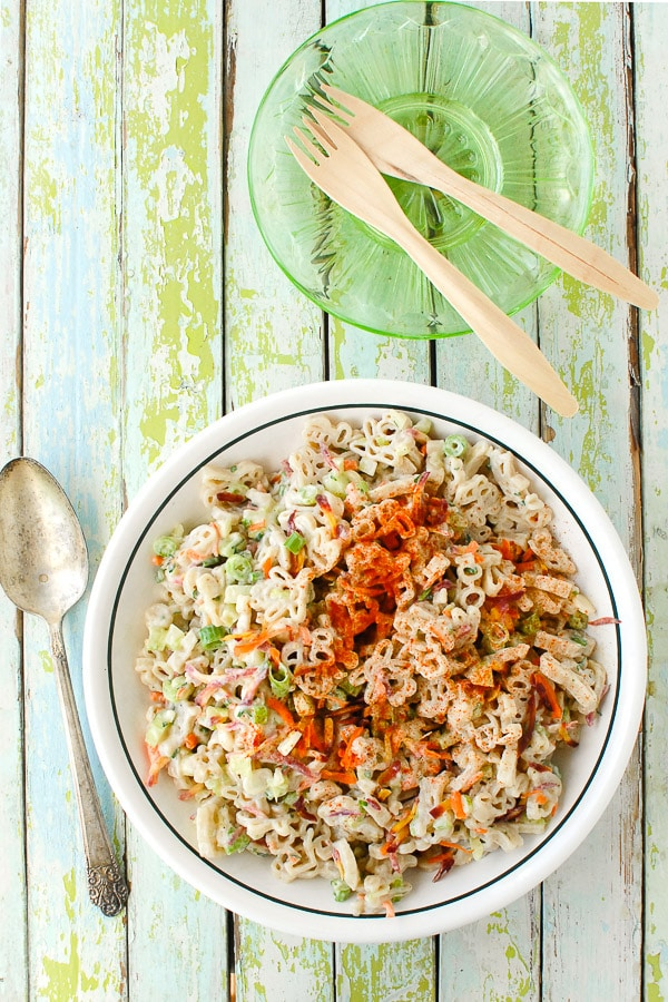 Picnic Macaroni Salad - BoulderLocavore.com