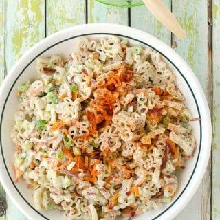 Picnic Macaroni Salad gluten-free (gluten-free pasta salad)