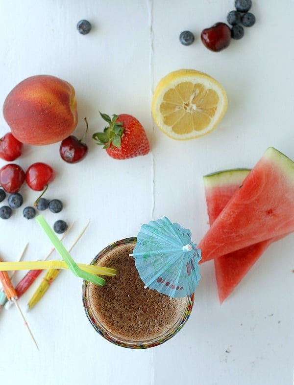 Refreshing Summertime Smoothie - BoulderLocavore.com