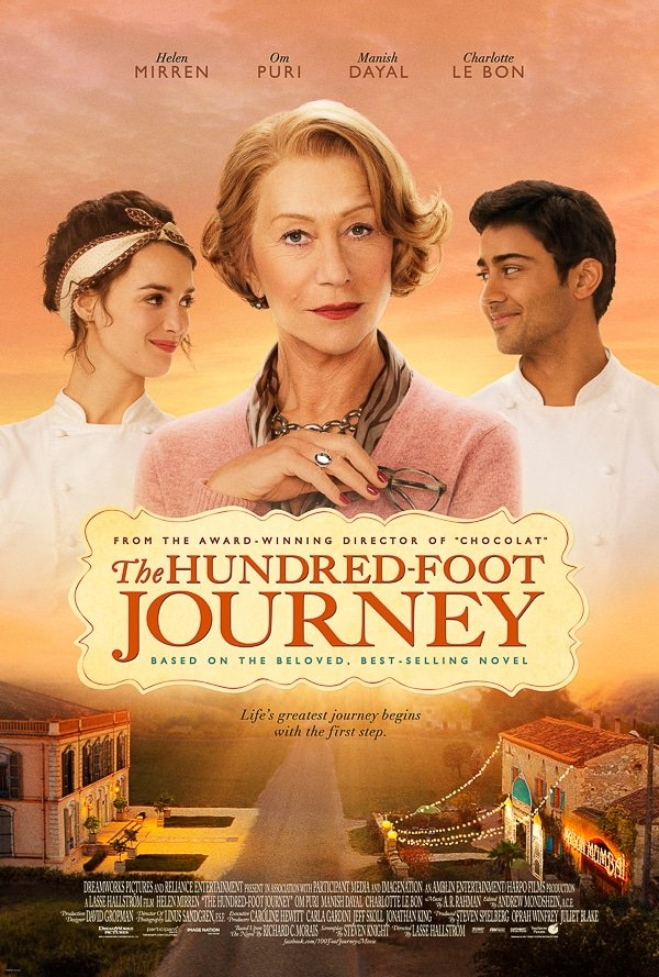 The Hundred-Foot Journey movie poster - Dreamworks
