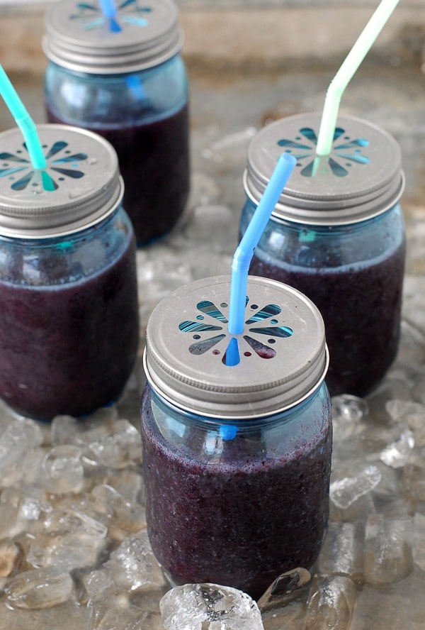 Blueberry-Mint Daiquiris - BoulderLocavore