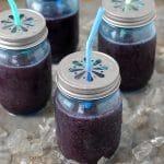 Blueberry-Mint Daiquiris
