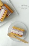 Three Layer Ice Cream Sandwiches {gluten-free}