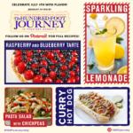 Sparkling Lemonade, Raspberry Blueberry Tarte and The Hundred-Foot Journey movie