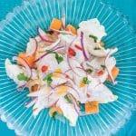 Don Ceviche {recipe} and Ceviche Peruvian Kitchen cookbook