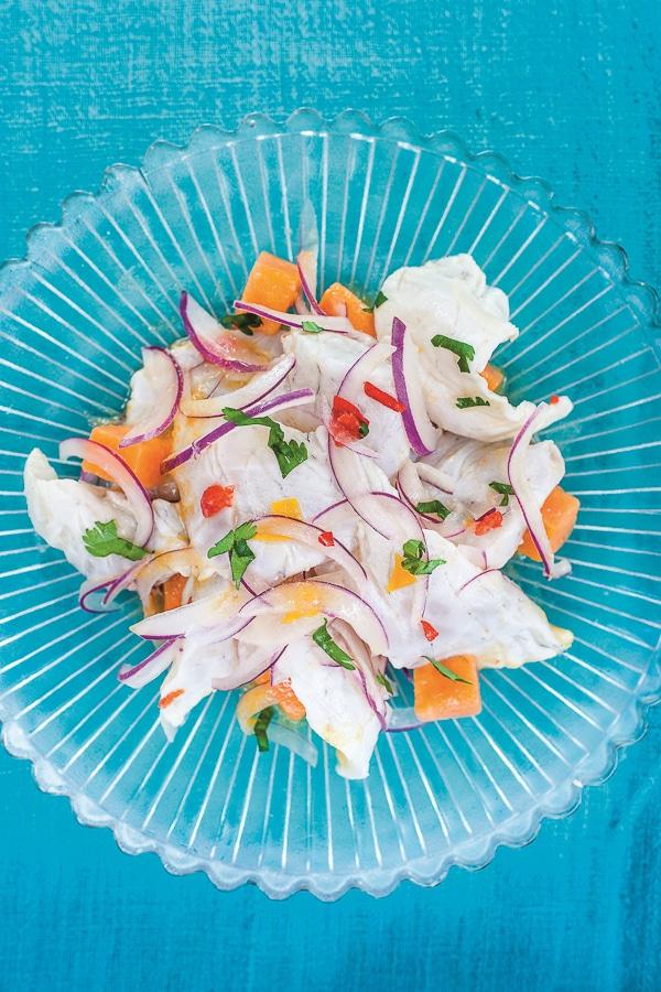 CPKT Don Ceviche - Sea Bass Ceviche | BoulderLocavore.com