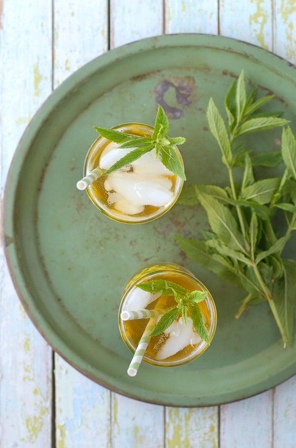 Lemongrass-Lavender Green Sun Tea - BoulderLocavore.com